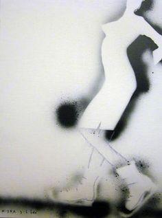 """Saatchi Art Artist  kostya goldtv Mitenev; Painting, """"""""night.skates"""" by kostya goldtv"""" #art"""