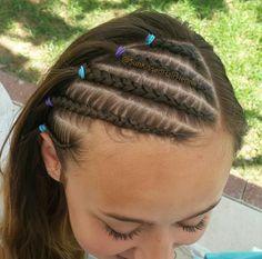 #braids #hair #braidstyles #thickbraids #blackhair #natural #naturalhair #childrenshairstyles #bermuda #sunkissedhairhenna #jtull #jtulldesigns