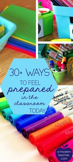 30 Ways to Feel Prepared in the Classroom (Plus Free Printable)