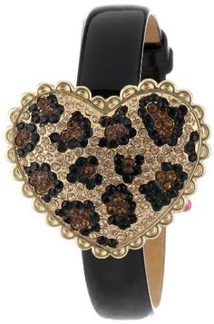 Betsey Johnson Womens BJ00201-01 Analog Pave Leopard Pattern Heart Cover Watch Betsey Johnson,http://www.amazon.com/dp/B00AFE38G4/ref=cm_sw_r_pi_dp_h.eOrb7605FF4BBD
