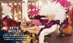 Still so Divine Mezzo Soprano, Bette Midler, November 3, She Movie, American Singers, Comedians, Actresses, Actors, People