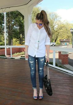 Casual look on the blog!