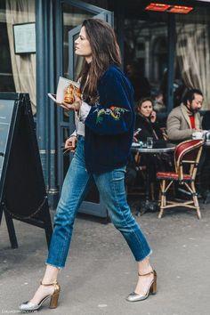 Street Style PFW VII #casualfashion