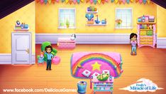 I've just decorated this wonderful nursery! Want to customize your own? http://m.onelink.me/6e744401