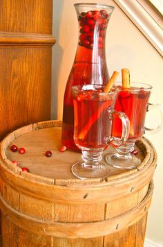 Spiced Holiday Punch- Guest Post by A Healthy Jalapeno | Cravings of a Lunatic