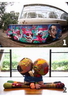 RIOetc | Ponte-aérea: Bienal Graffiti Fine Art  O resultado do encontro de 65 artistas no Parque do Ibirapuera