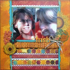 Forever Fall @Carin Perry Perry McDonough #bobunny #scrapbooking