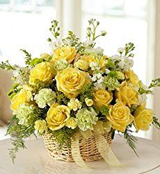 1800Flowers - Mixed Basket Arrangement for Sympathy - Mixed Basket...