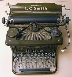 LC Smith Secretarial Typewriter No.8