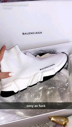17 Balenciaga garments perfect for girls with expensive tastes, 17 Balenciaga garments perfect for girls with expensive tastes, Outfit Jeans, Sneakers Fashion, Fashion Shoes, Shoes Sneakers, Punk Fashion, Lolita Fashion, Tennis Shoes Outfit, Hype Shoes, Boots