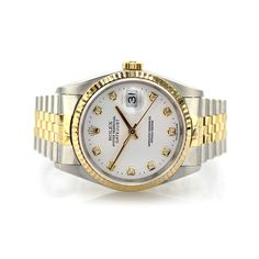 Rolex Oyster Perpetual DateJust 16233 Diamond Dial | A timeless classic model which is very much sought after | Pre-owned Rolex Watch | Cashmax Jewelry | #luxurywatch #cashmax