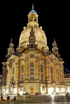 Wonderful view of Dresden.