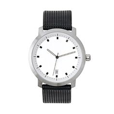 Stainless Steel Round Watch