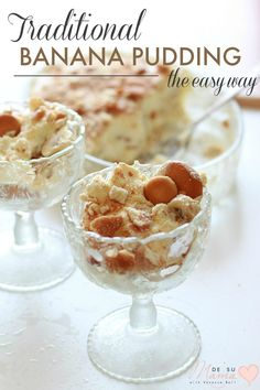 Easy Banana Pudding Recipe