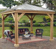 Pergola For Small Backyard Diy Pergola, Deck With Pergola, Covered Pergola, Pergola Shade, Pergola Ideas, Cheap Pergola, Patio Ideas, Backyard Pavilion, Outdoor Pavilion