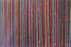 'All Sorts' 2 by Kim Switzer Enamel ~ 100 cm x 150 cm