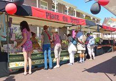 Place du Tertre, Zandvoort aan Zee, Kunst, Brocante, Zin in Parijs? = Zin in Zandvoort!