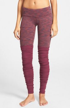 Alo 'Goddess' Ribbed Leggings | Nordstrom