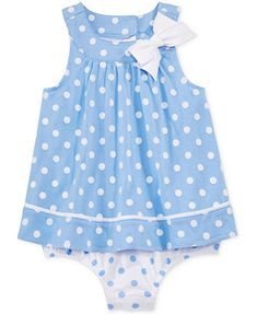 fb0d9d155afa First Impressions Baby Girls' Dot-Print Sunsuit, Only at Macy's | macys.
