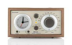 Tivoli Audio Model Three AM/FM Radio with Alarm Clock and Bluetooth Tivoli Audio, Model One, Thing 1, Wood Cabinets, Listening To Music, Beige, Bluetooth, Natural Wood