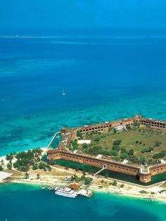 Dry Tortugas National Park. 3 hr boat ride from Key West. $170 ferry, breakfast and lunch included, + tour of the fort (prison in Civil War), and snorkel equipment.