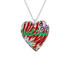 Webism Joy Necklace Heart Charm on CafePress.com Heart Charm, Charmed, Joy, Pendant Necklace, Womens Fashion, How To Wear, Fashion Design, Jewelry, Jewlery