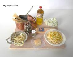 Italian spaghetti preparation board Handmade by MyFrenchCuisine