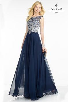 The Hottest Dress Designer hands down! Alyce Paris.  Check out their dresses at alyceparis.com Black Label | Dress Style #5741 #http://pinterest.com/alyceparis