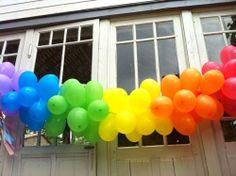 Nos balões