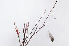 DIY Twig Tabletop Teepees
