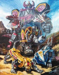 Mighty Morphin Power Rangers: Megazord