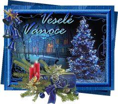 Vánoční přání - Obrázková přání Cute Images, Christmas Pictures, Christmas And New Year, Neon Signs, Advent, Painting, Art, Art Background, Xmas Pictures