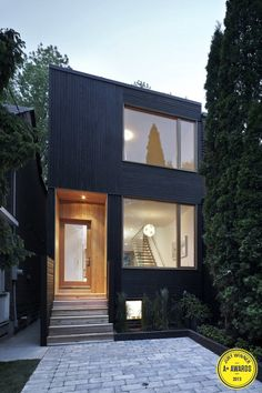 Infill Home in Toronto, by Kyra Clarkson and Christopher Glaisek
