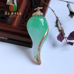 Nice Jewelry, Jewelry Design, Rangoli Designs Images, Jade Necklace, Green Diamond, Jade Pendant, Chinese Antiques, Crystal Jewelry, Pearl