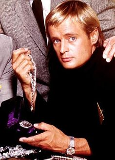 David McCallum in the Illya Kuryakin look. Man from U.N.C.L.E. , 1964 to 1968   via http://moviestarmakeover.com/category/loretta-young/