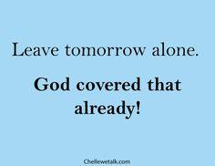 tomorrowalone