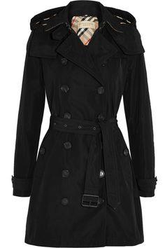 Burberry Brit | Trench-coat en tissu imperméable à capuche amovible  Balmoral | NET-A-PORTER.COM