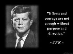 Inspirational #quote from John F. Kennedy... #RememberingJFK #JFK #quotes by Shopway2much