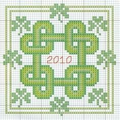 Free Biscornu Cross Stitch Patterns... no color chart available, just use the pattern chart as your color guide.. or choose your own colors...    Via Caryn Mayo