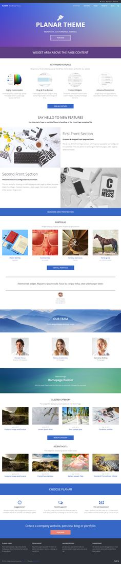 Buy Planar - Business Portfolio Multi-Purpose WordPress Theme by dinev on ThemeForest. Business Portfolio WordPress Theme Planar is a Business WordPress Theme that is considered a perfect solution for all. Target Audience, Premium Wordpress Themes, Purpose, Website, Startups, Small Businesses, Free, Collection, Beautiful