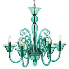 turquoise glass