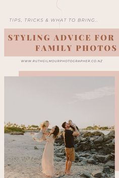 Outfit inspiration, styling advice, colour palette co-ordination, as well as do's and dont's for your next family photoshoot