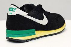 Nike Air Epic VNTG – Black / White – Green | KicksOnFire
