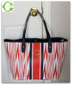 C. Wonder Printed Stripe Signature Tote Mother's Day Gift #cwonderlovesmom #mothersday #gift
