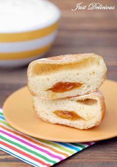 Šišky s džemom - NajRecept.sk Kiwi, French Toast, Bread, Breakfast, Blog, Basket, Morning Coffee, Brot, Blogging