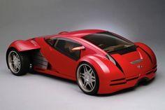 2014 Lexus Minority Report Sports Car