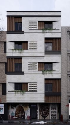 Architectural Design Art – All about Architectural Design Architecture Building Design, Brick Architecture, Facade Design, Residential Architecture, Exterior Design, Interior Architecture, Building Facade, House Front Design, Modern House Design