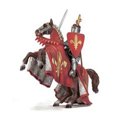 Schleich Prince on Reared Up Horse