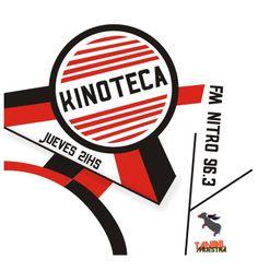 """Logo/Flyer Programa de radio """"Kinoteca"""" - Tandil 2012"""