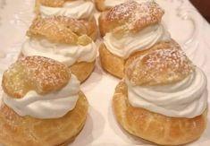 Cream Puff Filling, Cream Puff Recipe, Cream Pies, Chocolate Desserts, Melting Chocolate, Baking Recipes, Dessert Recipes, Good Food, Yummy Food